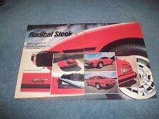 "1979 Mazda RX-7 Vintage New Car Info Article ""Radical Sleek"""