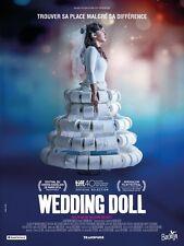 Affiche Pliée 40x60cm WEDDING DOLL (2017) Moran Rosenblatt, Assi Levy TBE