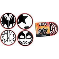 Ikon Collectables Kiss - Round Coaster Set