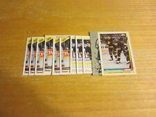 Trevor Linden Lot of 11 Trading Cards w/1 INSERT NHL Hockey Vancouver Canucks