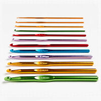 Crochet Hook Sizes 1mm - 8mm Aluminum & Metal Needle for Knitting Yarn Craft