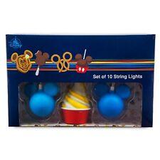 Disney Parks String Lights Set - Disney Treats - Park Food Icons - 10 Lights