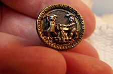 "Victorian Metal""Forging the Bands of Matrimony"" Button  (701) (FOR MSDAISY7)"