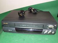 BUSH Video Cassette Recorder VCR807 VHS VCR BLACK Tape FAULTY / SPARES