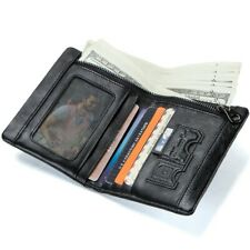 Men's Wallets Genuine Leather Wallet For Man Credit Card Holder Casual Man Short