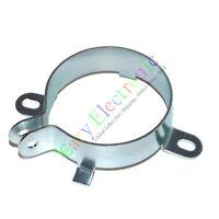 """10pcs 40mm 1-3/5"""" Film Electrolytic Can Capacitor metal Clamp Tube audio Amp DIY"""