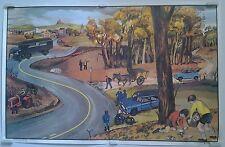 automne police camion le jardinier  affiche scolaire années 60 OGÉ-HACHETTE