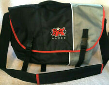 RIOT Games Messenger Bag Laptop Computer Briefcase Padded Embroidered Logo - New