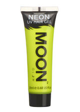 UV Neon Yellow Hair Gel Tube 20ml