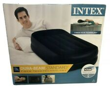 Intex Dura-Beam 42cm cama colchón INDIVIDUAL HINCHABLE bomba incorporada Libre P&P 🛌 👀