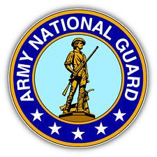 Army National Guard Seal USA Car Bumper Sticker Decal 5'' x 5''