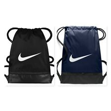 Nike Brasilia Sports Gymsack Training Gym Bag Sack Drawstring PE Team Kit Tote