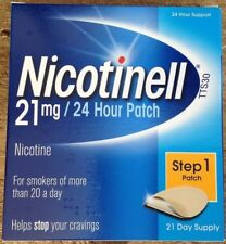 NICOTINELL 21mg Patch - Step 1 X 21 Patches