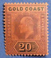 1902 GOLD COAST 20S SCOTT# 48 S.G.# 48 UNUSED CS01325