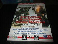 """COFFRET 3 DVD """"ENCYCLOPEDIE DE LA SECONDE GUERRE MONDIALE : 1935 - 1945"""""""