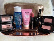 🌸NEW LANCOME Gift Set 8 Pcs Skincare Makeup Travel Size W/ Cosmetic Bag