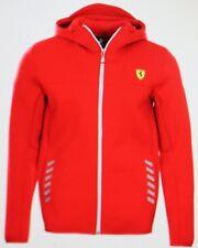 Puma Sf Scuderia Ferrari Soft Shell Jacket with Hood Red Size M New