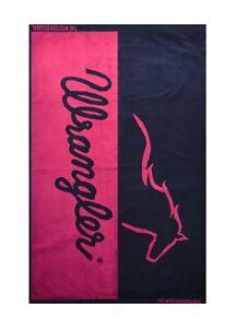 Wrangler Running Horse Oversize Beach Towel - 100% Cotton
