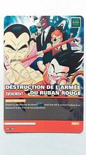 Carte Dragon ball Z Déstruction de L'armée du Ruban Rouge DB-798