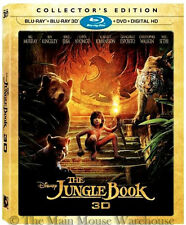 Disney Live Action Version of The Jungle Book 2016 3D Blu-ray DVD & Digital Copy