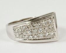 Schicker Ring mit funkelnden Brillanten, 0,485 Carat, 585 Weissgold