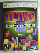 Tetris Evolution  (Xbox 360, 2007) New factory sealed