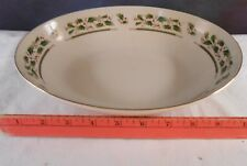 """Holly Holiday 9"""" Round Vegetable Bowl (flared) by ROYAL LIMITED"""