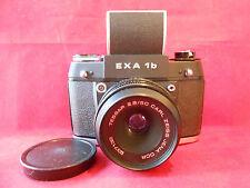 EXA 1b Objektiv Tessar 2,8/50 Carl Zeiss Jena  Spiegelreflexkamera Kamera mit LS