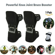 2Pcs Knee Brace Powerful Booster Leg Joint Lift Support Pad Rebound Spring Force