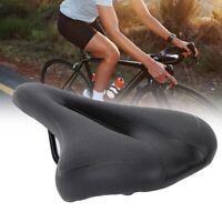 Bicycle Bike MTB Cycling Saddle Road Mountain Sports Soft Cushion Pad Seat Black