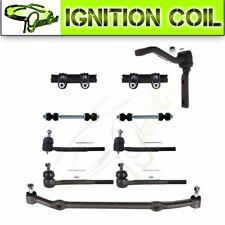 Fit for 78-87 Chevrolet EL CAMINO 10Pcs Front Suspension Tie Rod Center Link Kit