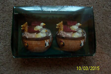 Harry & David Noah's Ark Salt/Pepper Shakers - NIB