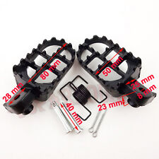 Footrest Foot Pegs For Pit Dirt Motor Bike Honda XR50R CRF50 CRF70 CRF80 CRF100F