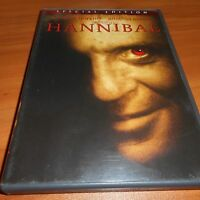 Hannibal (DVD, 2001, 2-Disc Widescreen Special Edition) Anthony Hopkins
