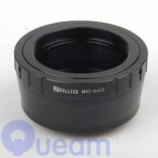 Dollice M42 Mount Lens to Micro Four Thirds m4/3 M43 Adapter Panasonic Olympus