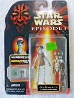 Star Wars Ody Mandrell with Pit Droid Hasbro 1998 NIB