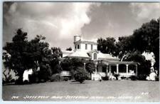 RPPC   NEW IBERIA, Louisiana LA   Jefferson Home JEFFERSON ISLAND 1940s Postcard