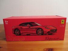 (Go) 1:18 Burago Signature Series Ferrari California T NUOVO conf. orig.