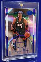 DWYANE WADE BOWMAN ELEVATION REFRACTOR BLUE PARALLEL /399 SP RARE MIAMI HEAT
