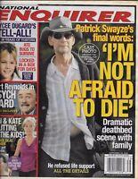National Enquirer Magazine Patrick Swayze Burt Reynolds Jon And Kate Gosselin