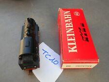 CT10. Ancienne locomotive vapeur ref 660 train HO KLEINBAHN avec boîte