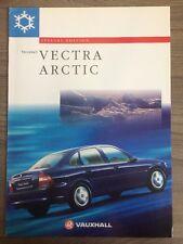 VAUXHALL VECTRA ARCTIC 1997 SPECIAL EDITION RANGE CAR BROCHURE HATCH & SALOON