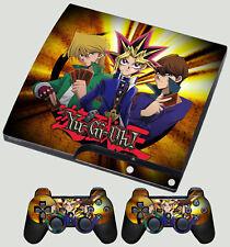 PLAYSTATION PS3 SLIM STICKER YU GI OH! KING OF GAMES YUGI MUTOU SKIN & PAD SKIN