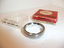 VINTAGE ZEISS IKON PROXAR 0.3m A 28.5mm PUSH FIT CLOSE UP FILTER CASED & BOXED