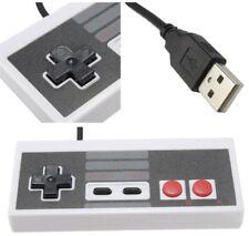 Nintendo NES Stile USB Controller Gamepad Joystick per PC MAC Lampone retropie