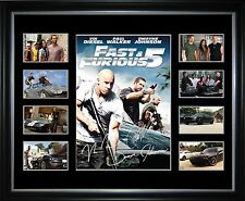Fast & Furious 5 Limited Edition Framed Memorabilia
