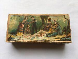 RARE 1890s L.BASCHIERA E Ci VENEZIA FIAMMIFERI IGIENICI MATRIMONIOARAGO MATCHBOX