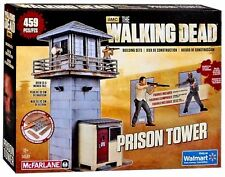 WALKING DEAD Building Set PRISON TOWER with 2 Micro figure MIB 459 pieces