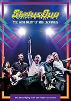 STATUS QUO - THE LAST NIGHT OF THE ELECTRICS   DVD NEW+