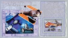 Conquest of Space I Apollo 15 Moon Rover / Hubble s/s Congo DR MNH CDR0720c